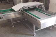 Automatic trays loading device for fresh dough