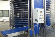 COOLING SPIRAL WITH PLASTIC MODULAR BELT FOR FOOD INDUSTRY