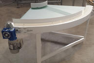 90° belt conveyor