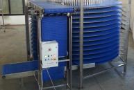 Spirale di raffredamento con rete plastica modulare